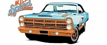 Gulf-Liveried 1967 Ford Fairlane 500 Headed for 2013 SEMA
