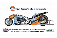 The Gulf Racing Top Fuel Motorcycle