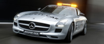 Gullwing Mercedes-Benz SLS AMG Becomes New F1 Safety Car. Gallery!