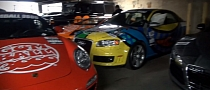Gumball 3000 2012: Gumball Garage in New York [Video]