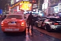 Gumball 3000 2012: Supercars Line Up at the Start in Times Square, NY [Video]