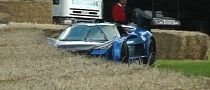 Gumpert Apollo Crash at Goodwood 2012 [Video]