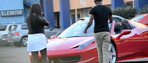 Guys Pick Up Girls in a Ferrari 458 Spider [Video]