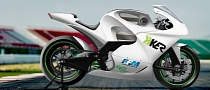 H-KER 2014 FIM eRoadRacing Prototype Rendered