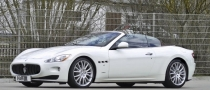 H&R Lowers the Maserati GranTurismo S Convertible