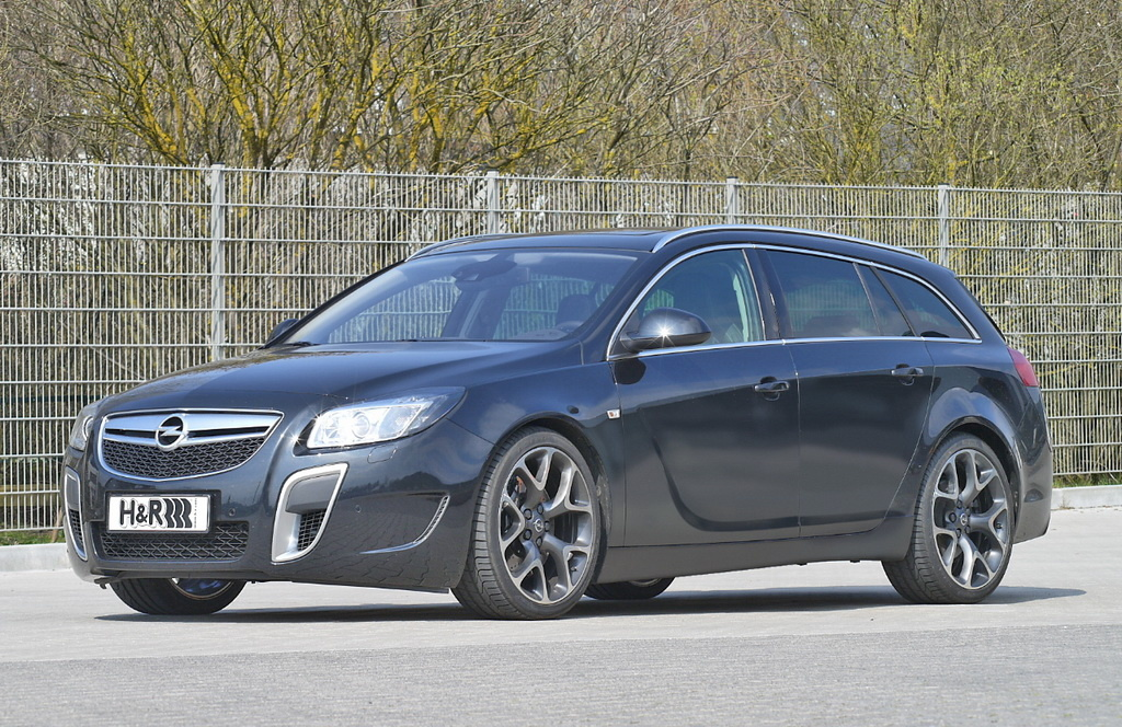 h r lowers the opel insignia opc sports tourer autoevolution. Black Bedroom Furniture Sets. Home Design Ideas