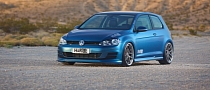 H&R Slams the 2015 VW Golf for SEMA [Photo Gallery]