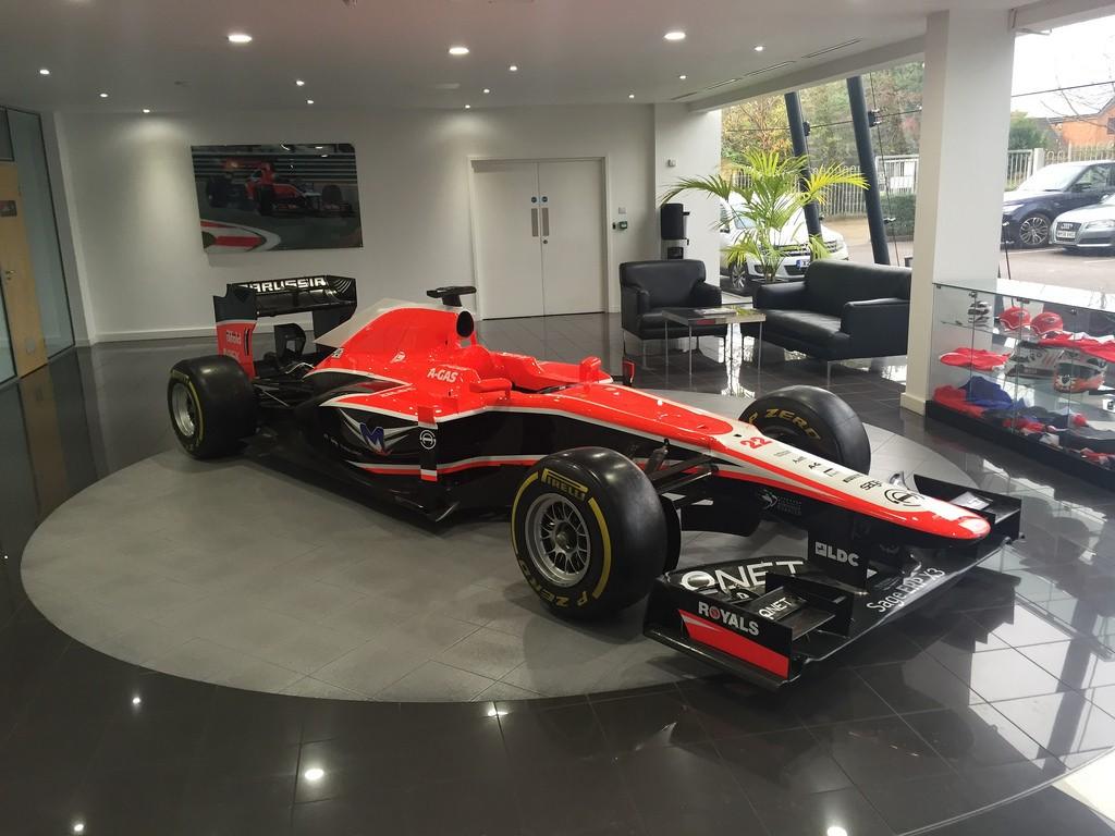 Virgin racing team corporate office