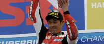 Haga Powers to Phillip Island Win