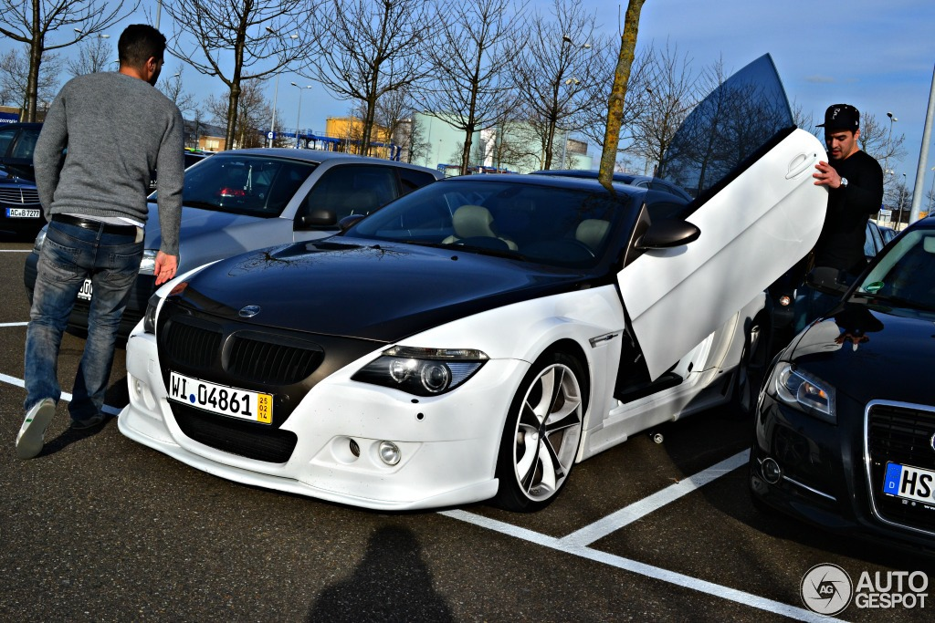 hamann bmw m6 has lambo doors in the netherlands. Black Bedroom Furniture Sets. Home Design Ideas