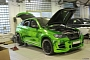 Hamann BMW X6 Wrapped in Green Chrome [Photo Gallery]