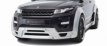 Hamann Goes All Out with Evoque Body Kit
