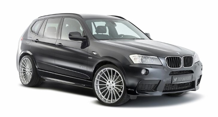 Hamann Introduces BMW F25 X3 Upgrades