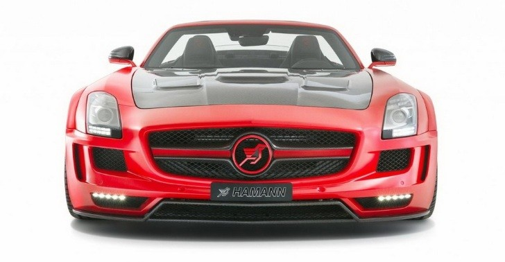 Hamann Turns SLS AMG into Carbon-Infused Hawk Roadster [Photo Gallery]