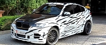 Hamann Tycoon BMW X6: White Tiger or Just a Zebra? [Video]