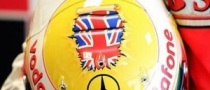 Hamilton Displays New Helmet Design for 2009 British GP