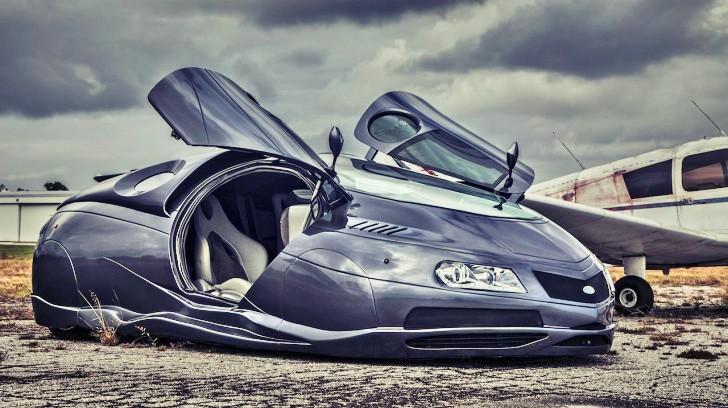 Handmade Science Fiction Alien Car Is For Sale Video