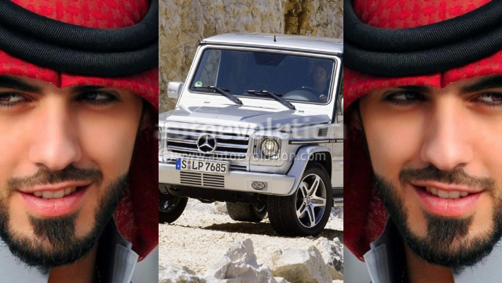 Handsome-Deported-Saudi Omar Borkan Gets Free G55 from Admirer