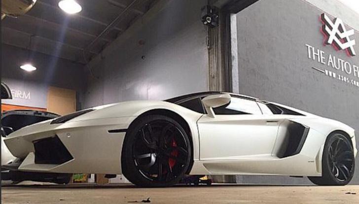 Hanley Ramirez Upgrades His Lamborghini Aventador with a New Pair of Rims