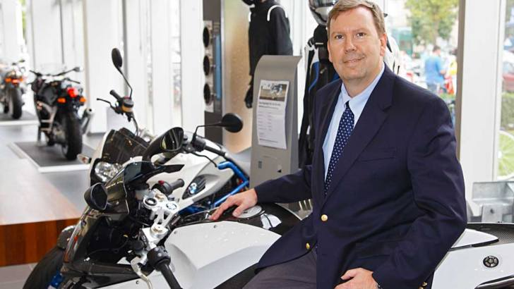 Hans Blesse of BMW Motorrad USA on Scooters and Superbikes