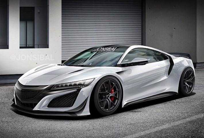 Hardcore Acura NSX Rendered by Jon Sibal - autoevolution