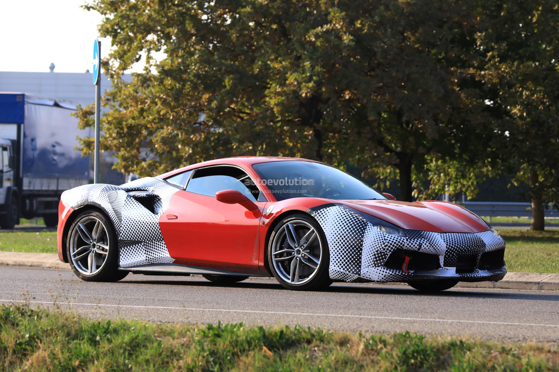 Spyshots Hardcore Ferrari 488 GTO Caught Testing In
