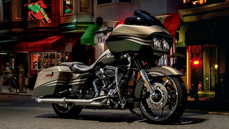Harley Baggers And Tourers Receive 214 Hlins Cartridge Forks