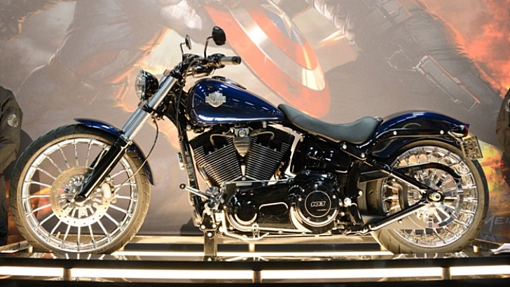 Harley-Davidson Breakout Is the Next Captain America Bike