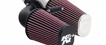 Harley-Davidson Cruisers Receive K&N Aircharger High-Flow Intakes