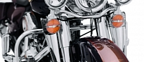 Harley-Davidson Fork-Mount Wind Deflectors Available