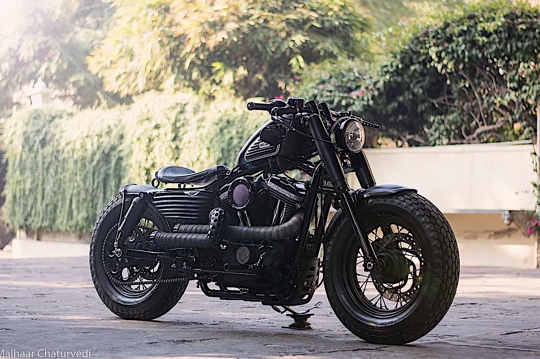 Harley Davidson Forty Eight Is The Black Paasha Of Custom Builds Autoevolution