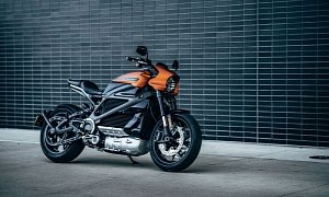 Harley-Davidson LiveWire Electric Motorcycle Ships with Free