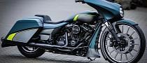 Harley-Davidson Milwaukee 8 Is a Thunderbike Street Glide Special