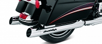 Harley-Davidson Screamin' Eagle Street Cannon Mufflers for a Deeper Tone