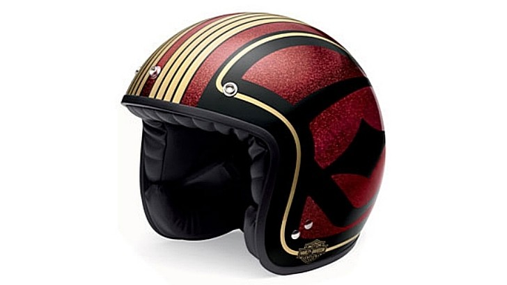 Harley-Davidson Shows New Retro Helmets