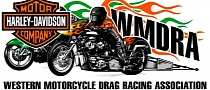 Harley-Davidson Sponsors the Top Fuel Drag Races in Sturgis