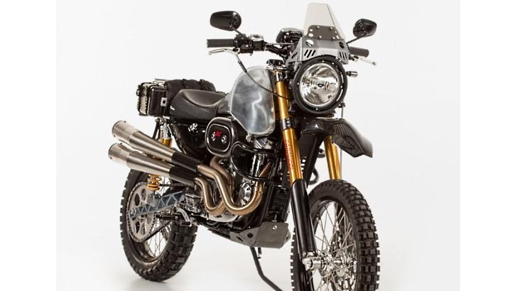 Harley-Davidson Sportster Dual-Sport Conversion - autoevolution