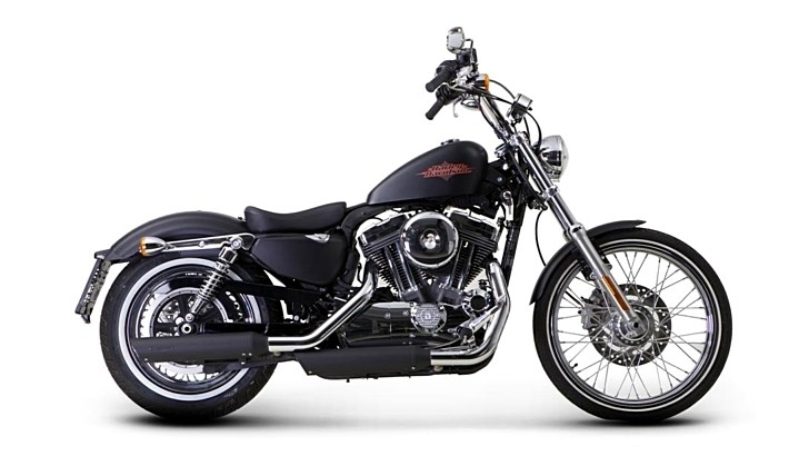 Harley-Davidson Sportster Receives Akrapovic Exhausts