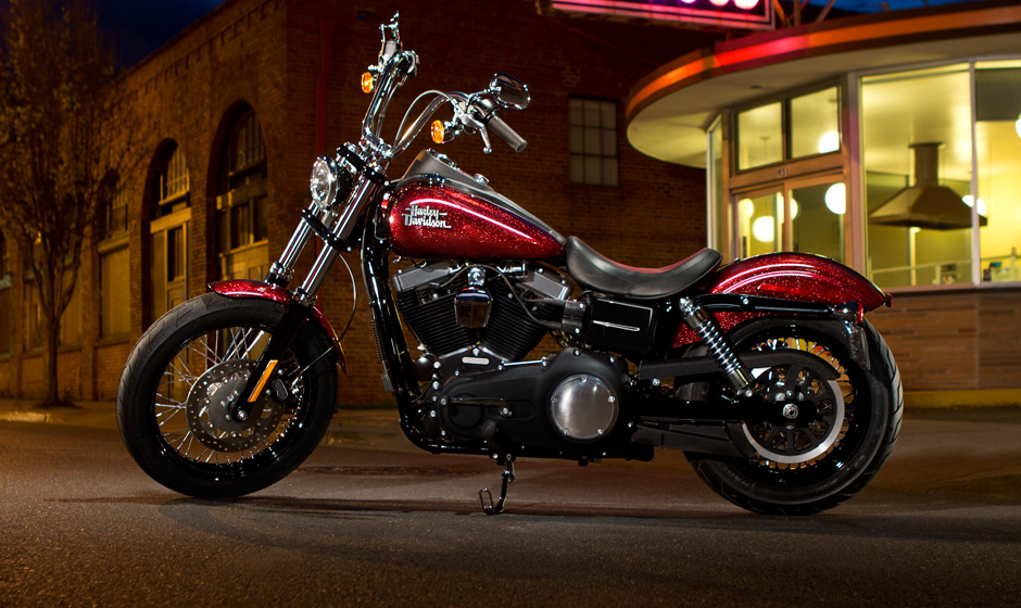 harley davidson street bob gets h d1 customization for 2013