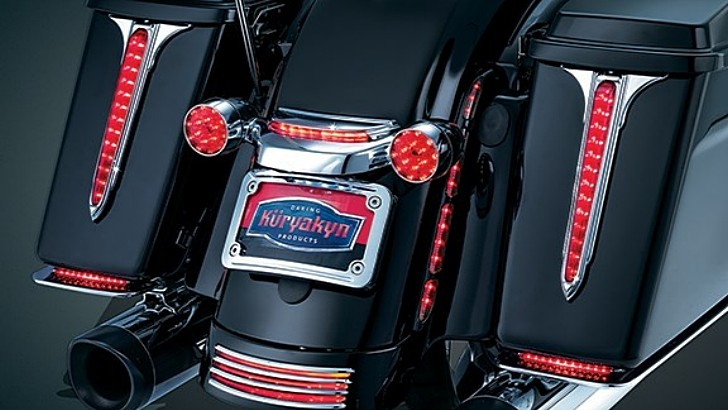 Harley-Davidson Tourers Receive New Kuryakyn LED Accents