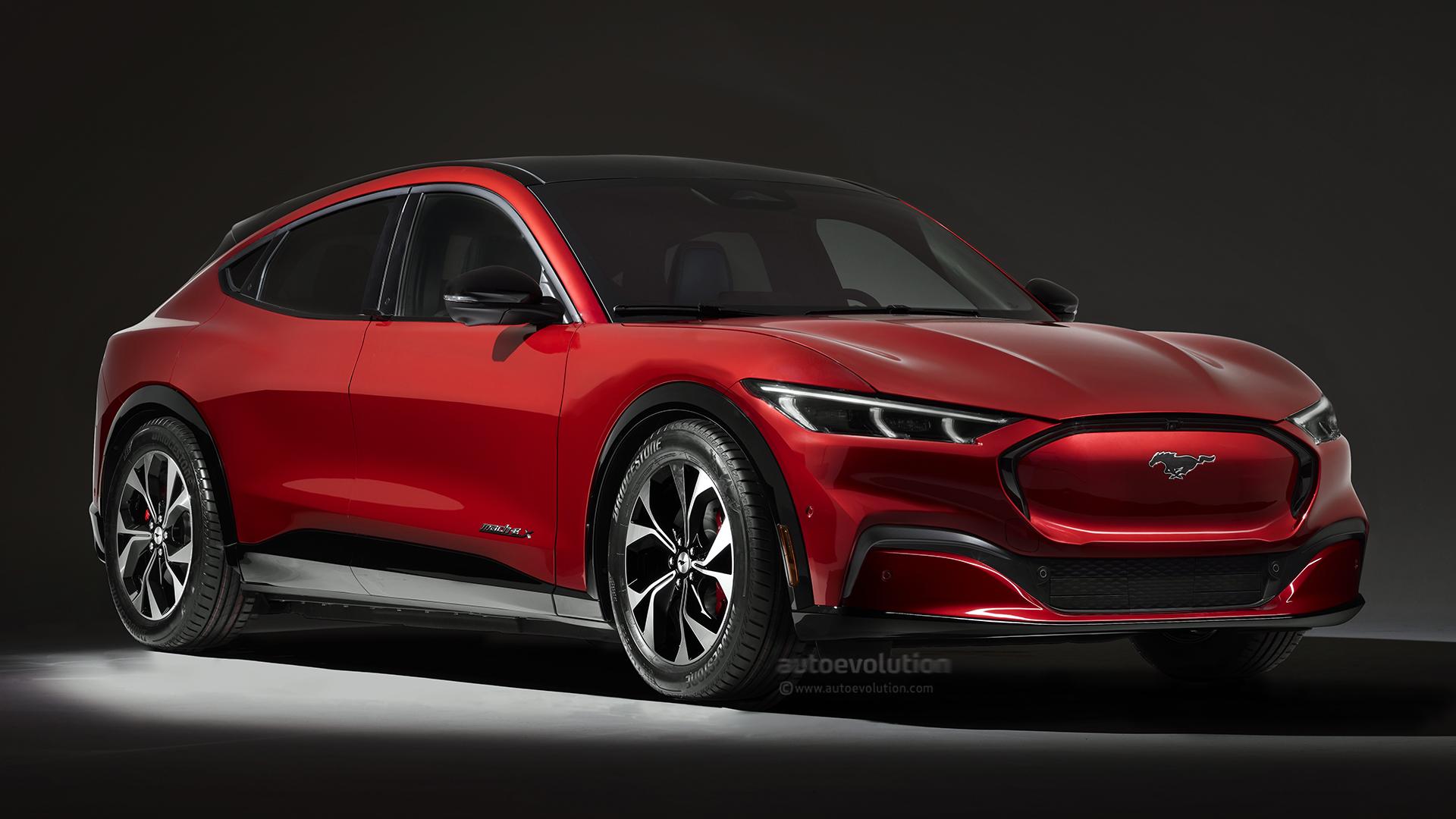 Ford Mustang Mach-E Hatchback Is the Blue Oval EV We Should Have Got - autoevolution