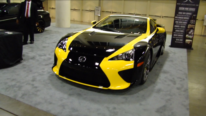 Have You Ever Seen a Bumblebee Lexus LFA? [Video]