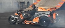 Hayabusa Engine on a Trike Looks Like Serious Fun [Video]