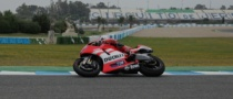 Hayden Enjoys Ducati GP12 Test at Jerez