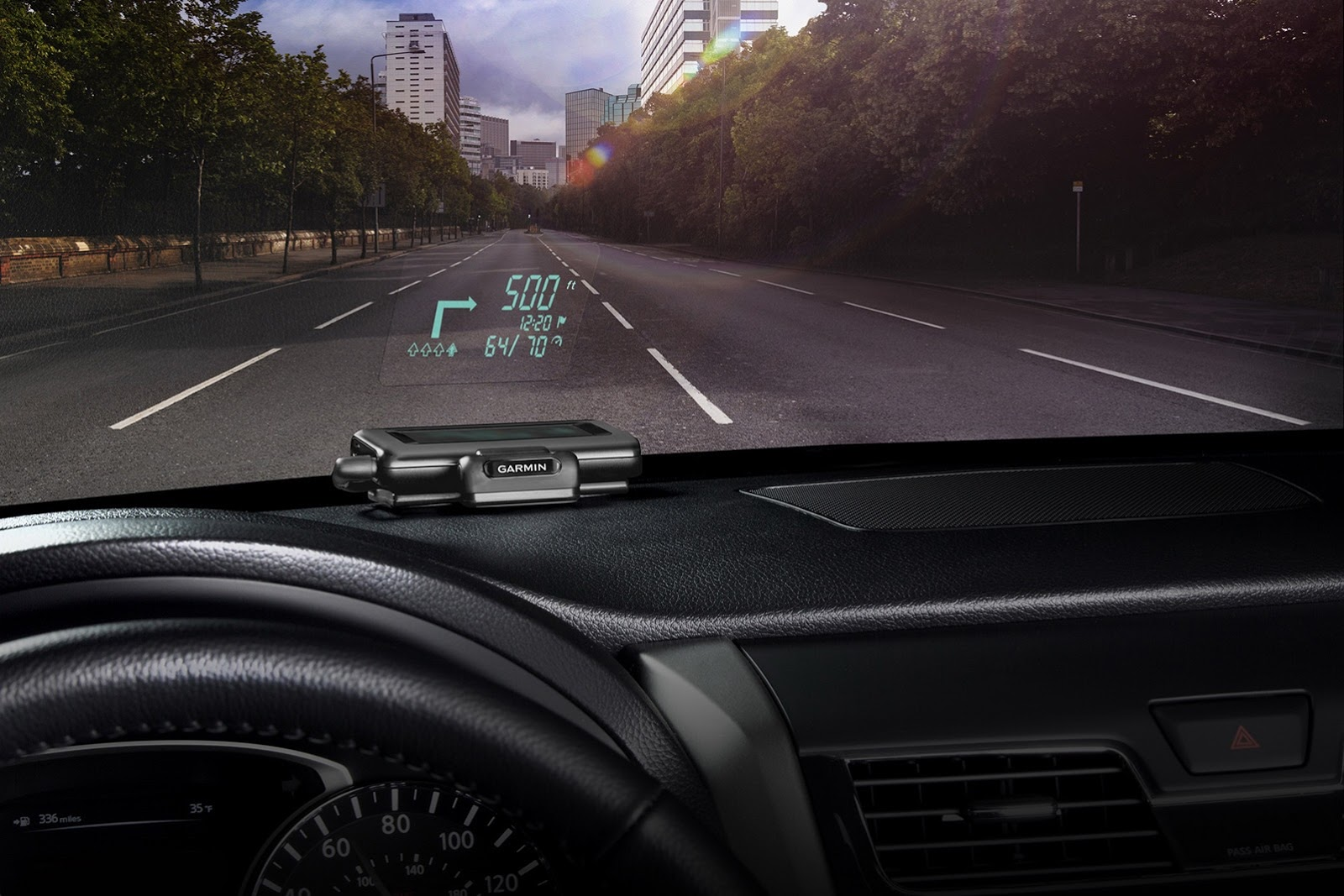 head up display now available for older bmws too from garmin autoevolution. Black Bedroom Furniture Sets. Home Design Ideas