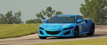 Hear the 2015 Acura NSX Make Some Track Noise [Video]