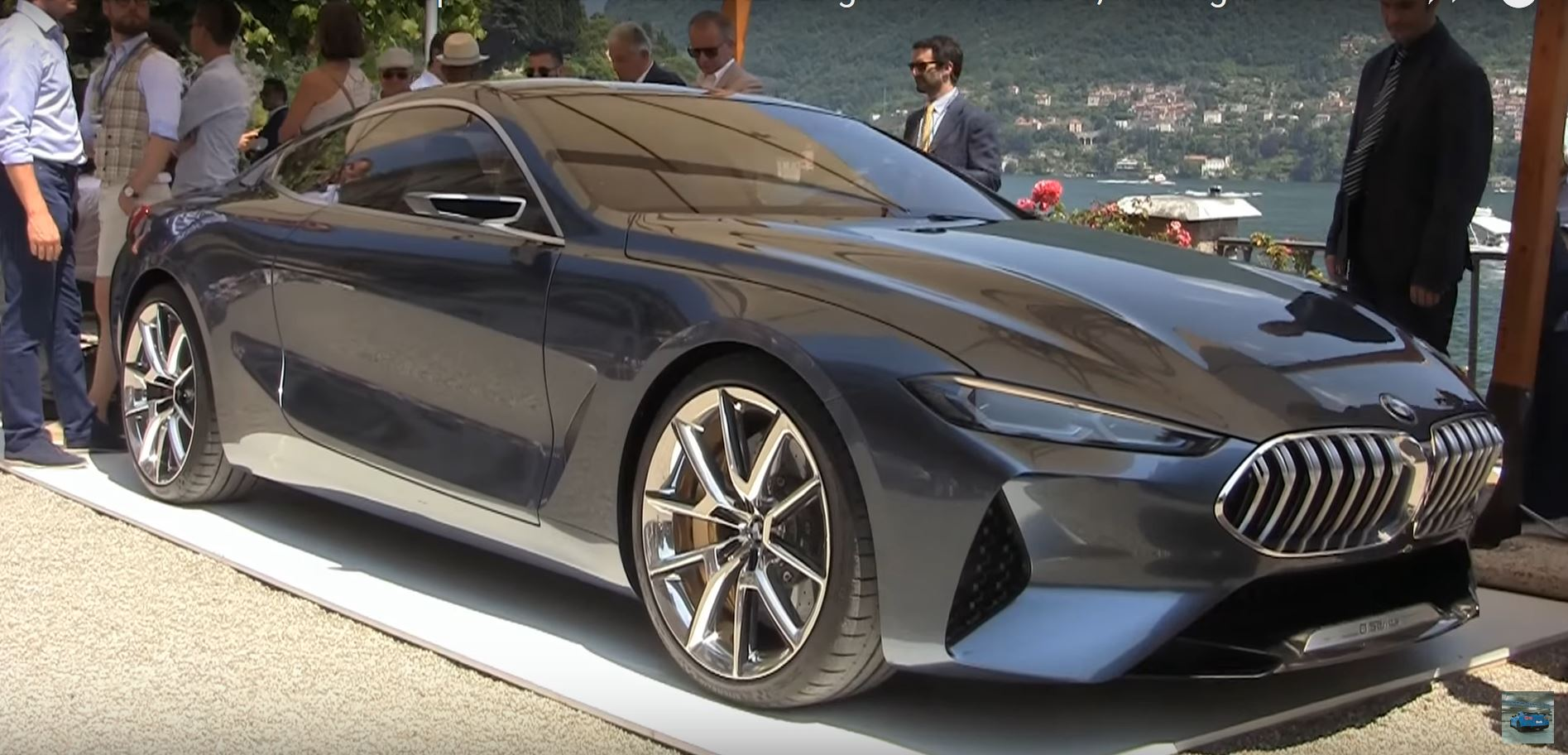 hear the bmw 8 series concept 39 s engine start up and roar at villa d 39 este autoevolution. Black Bedroom Furniture Sets. Home Design Ideas