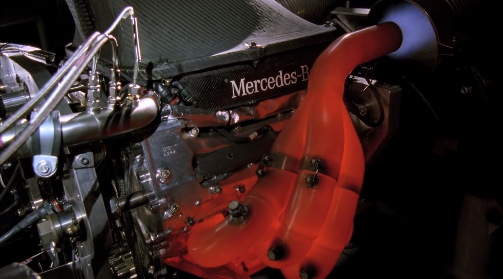 Mercedes F Engine Drawing
