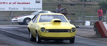 Heavily Modified Ford Pinto Pulls Awesome Wheel Stand [Video]