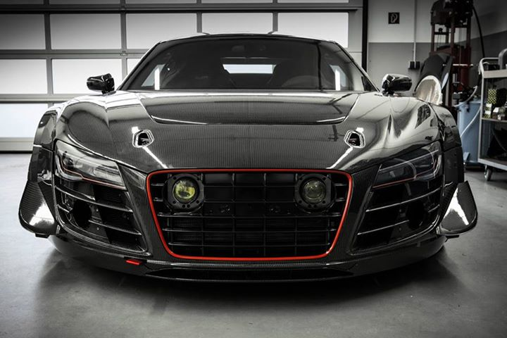 Heavily Tuned Audi R8 V10 From Mcchip Dkr Is A Jaw Dropping Street